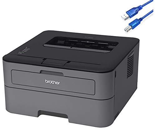 Brother HL-L2300d Compact Monochrome Laser Printer with Duplex Printing, 2400 x 600 DPI, up to 27 Pages per Minute, Automatic Duplex (2-Sided) Printing w/GM Bundle