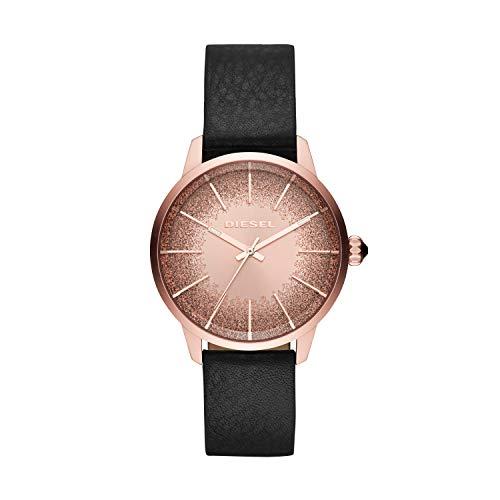 Diesel Reloj de pulsera Analógico para Mujer de Cuarzo con Correa en Cuero