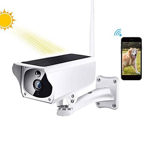 ZJ Solar 1080P HD Vigilancia De Seguridad WI-FI Inalámbrico Exterior IP67 Cámara Exterior con Alimentación A Prueba De Agua Alarma De Intrusión De Voz Bidireccional