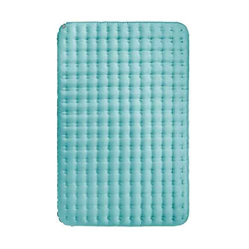 HONGGE 1,6 kg Materasso Gonfiabile 40D Nylon TPU 13 cm Addensare 1-2 Persone Strati Impermeabili Air Letto Asura risistenti Portatile (Color : Blue, Dimensione : Two Seat)
