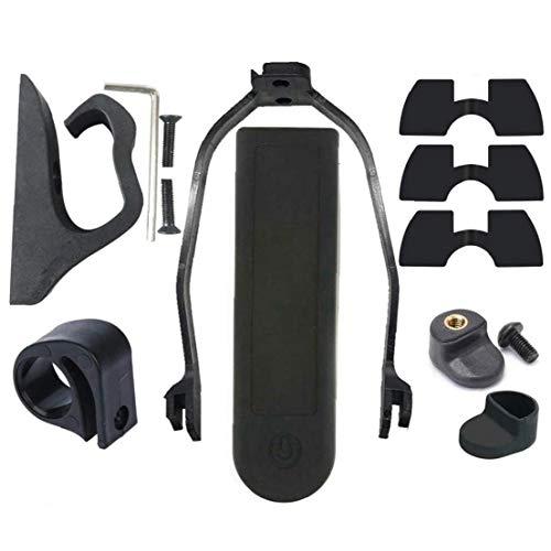 Scooter de la Pieza de Recambio Accesorios Scooter eléctrico Parte Kit Amortiguadores Compatible con Xiaomi M365 Scooter eléctrico Negro 13PCS