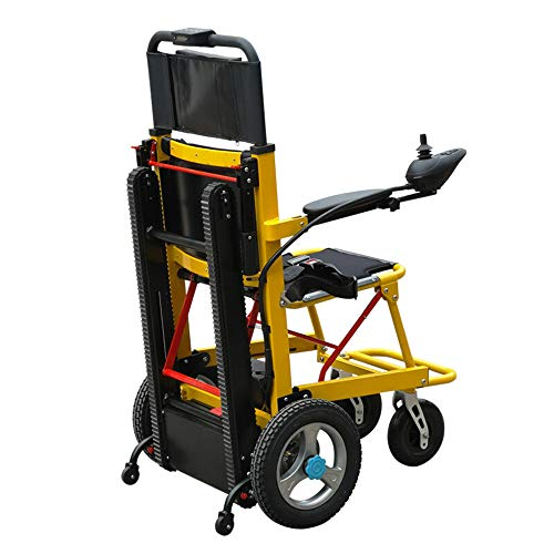 DYHQQ Mobility Scooter 350 lbs-Kraft-Treppenlift - elektrische Klappmobilitätshilfe - kann als Hebevorrichtung zum Auf- und Absteigen von Treppen verwendet Werden