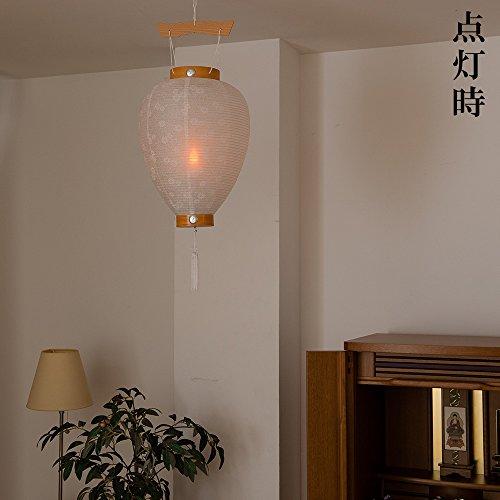 滝田商店『盆提灯新盆用白提灯』