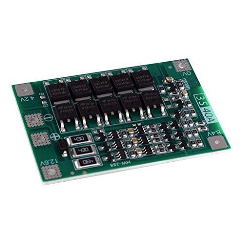 SDENSHI 3S 40A Lithiumbatterien BMS PCB Integrated Circuits Protection Board - Balancing Ausgabe