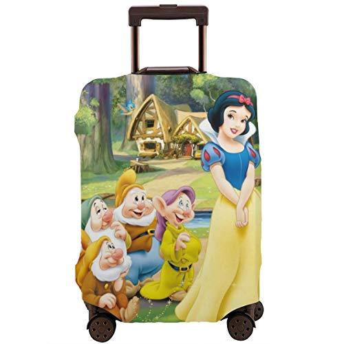 Biancaneve e i sette nani, custodia protettiva per bagagli, da viaggio, con chiusura lampo invisibile personalizzata