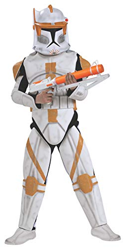 Rubie's Commander Cody Kostüm Clone Trooper Deluxe für Kind