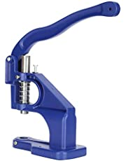 Handpers Tule Machine Grommets Oogje Tool, Handpers Zware Machine voor Grommets Snap Knoppen Klinknagels Oogjes Parels