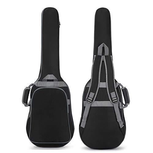 Bolsa Guitarra Eléctrica Mochila Acolchada Impermeable De 10 Mm Estuches Universales Para Guitarra Clásica Con Correa Para El Hombro Y Asa De Transporte Para Bajo Acústico Y Guitarra Clásica