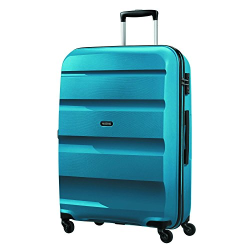 American Tourister Bon Air Spinner L Koffer, 75 cm, 91 L, Blau (Seaport Blue)