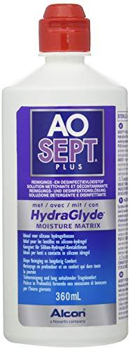 Aosept Plus mit Hydraglyde, Kontaklinsen-Pflegemittel Systempack, 4 x 360 ml - 2