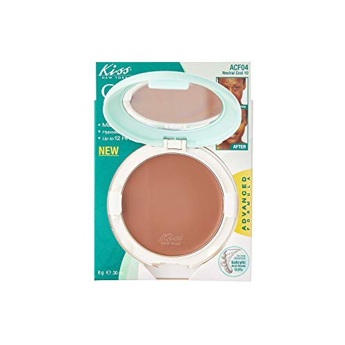 Kiss Cover and Care Cream Foundation Neutral Cool 10 (ACF04)
