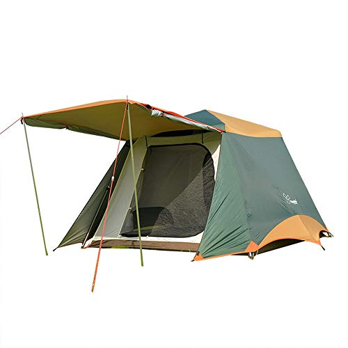 Strandzelt Camping Pergola Family Camping Outdoor Angeln Freizeit Speed Open Zelt Sonnenschirm Regen Automatic Zelt Camping Zelt (Color : Dark Brown, Size : 240cm*210cm*170cm)