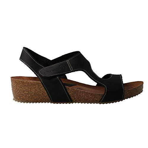 INTERBIOS 5316 - Sandalia Piel Negro para Mujer