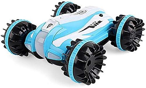 GLBS Fernbedienung Auto Spielzeug Wiederaufladbare RC Auto 4WD Stunt Car Racing fürzeug 360 Grad Sichere Und Langlebige Gel ewagen 2,4 GHz High Speed  asserdicht Kinder