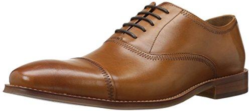 Steve Madden Men's Marky Oxford, Tan Leather, 12 M US