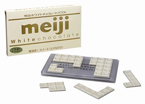 明治ホワイトチョコレートパズル