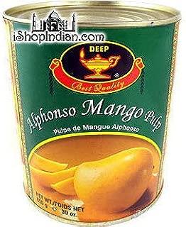 Pack of 2 - Deep Alphonso Mango Pulp (30 Ounces Each)