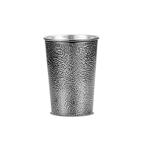 XXSC-ZC Sterling Silver Cups, Tea Cups, Coffee Cups, Beer Glasses, Whiskey Brandy Cocktail Glasses, Large-Capacity Household Drinking Glasses