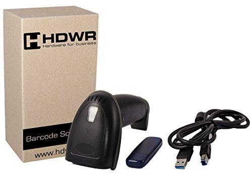 Draadloze 2.4G Barcode-scanner barcode-lezer draadloze codelezer HD43