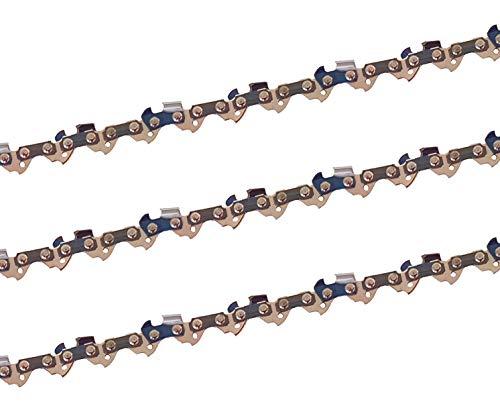 3 x gardexx Sägekette für Scheppach CSE 2500