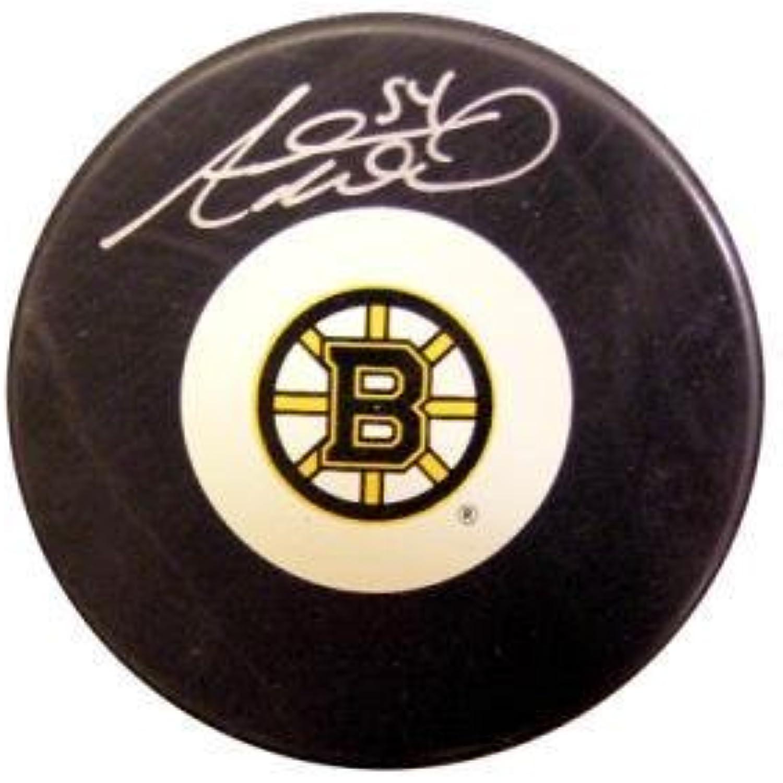 Adam McQuaid Autographed Puck  Autographed NHL Pucks