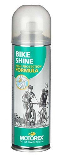 Motorex Unisex– Erwachsene Bike Shine Oberflächenbehandlung, neutral, 300 ml
