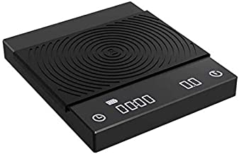 TIMEMORE Coffee Scale, Espresso Scale ,Weigh Digital Coffee Scale with Timer,2000 Grams(Black)
