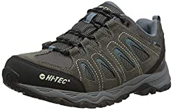 Hi-Tec Men Signal Hill Waterproof Trekking & Walking Walking Shoes, Gray (Dk Gull Gray / Rainy Day), 43 EU