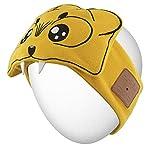Rotibox Bluetooth Headband Sleepphone Sleeping Eyemask Headphone Headset Earphone Speakerphone/Stereo Speaker & Microphone Hands-Free for Gym Exercise Fitness Sports Running - Yellow