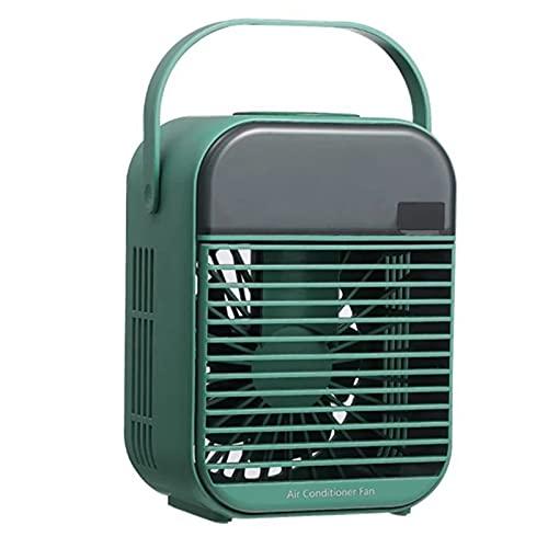 jiangye Mini aire acondicionado portátil de escritorio, silencioso, para casa, oficina o casa