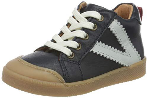 Bisgaard Unisex Kinder Sylvester Sneaker, Blau (Navy 1402), 24 EU