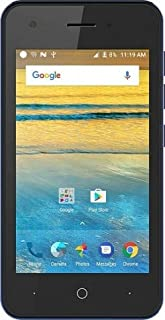 ZTE Blade L130 2019 Android 9.0 Go Edition 8 GB Factory Unlocked (Black)