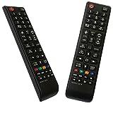 iLovely Nuevo Mando Samsung BN59-01247A Mando a Distancia Pare Ajuste para Samsung Smart TV UE55KU6500U UA78KS9500W UA88KS9800 UE40KU6000 UE49KU6500U