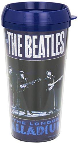 The Beatles Live At The London Palladium Blue Travel Coffee