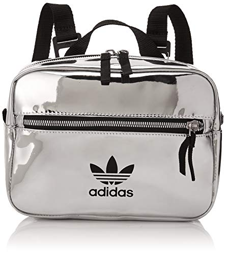 adidas Mini Airliner Backpack ED5881; Womens Backpack; ED5881; Silver; One Size EU (UK)