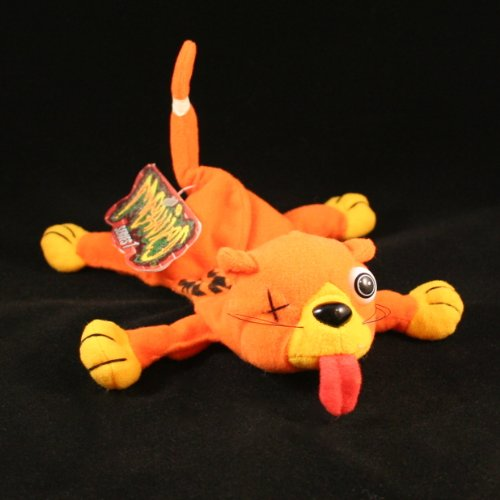 Meanies Splat The Road Kill CAT Series 1 Bean Bag Plush Toy from The Idea Factory