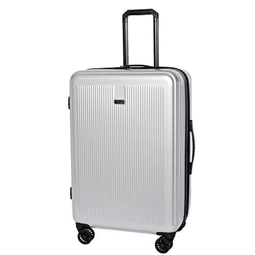 Revo Luna Expandable Hardside Spinner, 26', Silver, One Size