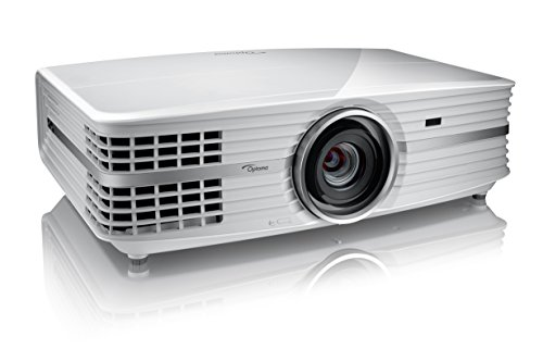 Optoma UHD65 True 4K UHD Cinema Projector for Home Theater Enthusiasts | Accurate Color with 6-Segment Color Wheel | HDR10 | Puremotion Technology | Limited Edition - White Color