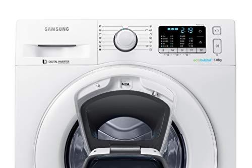 Samsung WW80K5400WW/EG Waschmaschine FL/A+++/116 kWh/Jahr/1400 UpM/8 kg/Add Wash/Smart Check/Digital Inverter Motor - 3