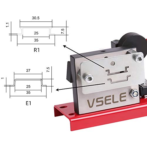 DIN Rail Cutter Tool for Cutting with ruler for easy measuring, din 35 rail cutter