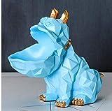 Esculturas Estatuas Adornos Estatuilla Figuras Coleccionables Resina Perro Caja De Almacenamiento Adornos Hogar Sala De Estar Decoración De Estatuas Mesa De Centro Oficina Figuras De Escritorio Artes