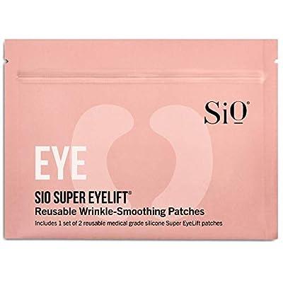 SiO Beauty Super Eyelift | Eye Anti-Wrinkle Patches 2 Week Supply | Overnight Smoothing Silicone Patches For Eye & Brow Wrinkles 2 Patch Pack by SiO Beauty