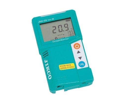 ジコー 酸素濃度計 Ver3 61-4669-34/JKO-25SD3