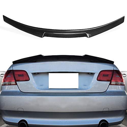 Estilo de ala de Labio de ala de Labio de alerón de Tronco de Fibra de Carbono for 07-13 for BMW E92 M3 2 Puertas for cupé Highkick
