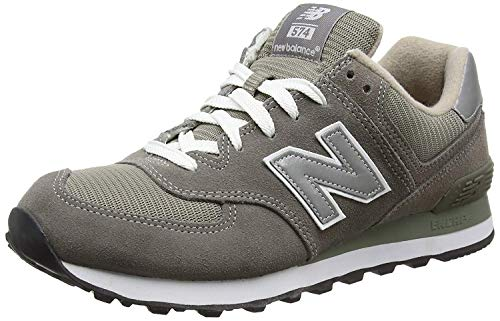 NEW BALANCE M574 CLASICO - Zapatillas de deporte para hombre, Gris (Grey),...