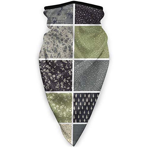 BJAMAJ Mooie stoffen maken doek Outdoor Gezicht Mond Mask Winddicht Sportmasker Ski Mask Shield Sjaal Bandana Mannen Vrouw