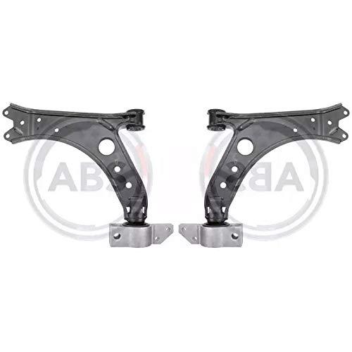 Kit Bracci oscillanti Destro + Sinistro sospensione ruota Anteriore ECP Calibro conico: 15,4 mm, Metallo, Braccio trasversale oscillante 9145375175760