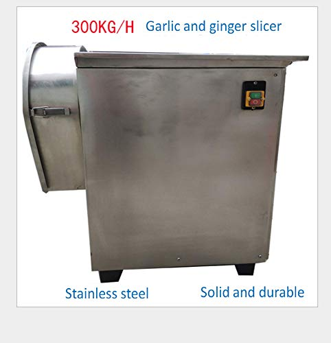 Lowest Prices! TX automatic stainless steel Garlic slicer ginger slicer vegetable slicer machine Ele...