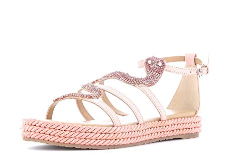 Apepazza Schuhe Frau Sandalen VTN01 / Nappa Victoria ROSA Größe 38 Pink