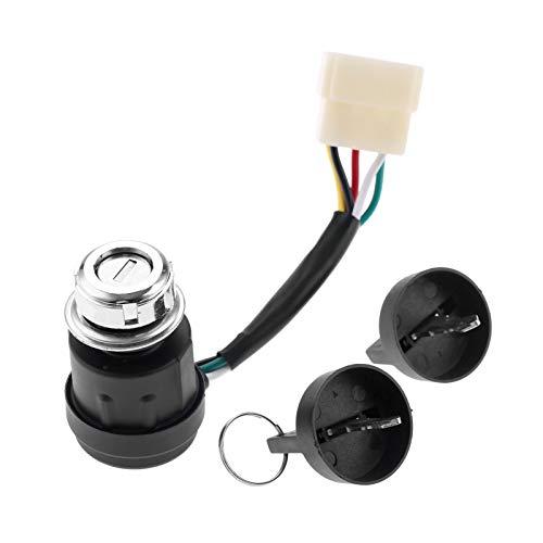 L-Yune,bolt Se Adapta Interruptor 1pc 5 Wire Interruptor de Arranque eléctrico cerraduras for generador Diesel generador eléctrico Accesorios Piezas